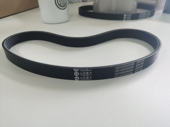 6pk783 Fan Belt Vg1500090066 Sinotruk Engine - China Alternator Belt, Truck Parts | Made-in-China.com