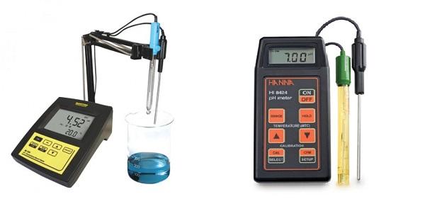 Nên mua máy đo pH để bàn hay máy đo pH cầm tay?