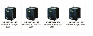 Bien tan Omron 3G3RX Series